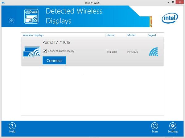 Download Driver: Intel WiDi